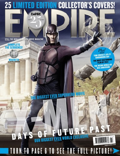 Portadas Exclusivas de Empire de X-Men Days of Future Past criticsight 10