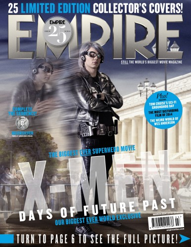 Portadas Exclusivas de Empire de X-Men Days of Future Past criticsight 11