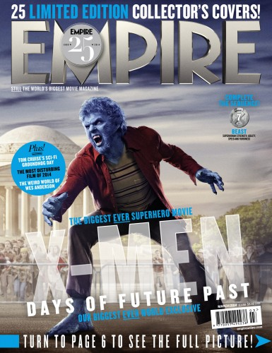 Portadas Exclusivas de Empire de X-Men Days of Future Past criticsight 12