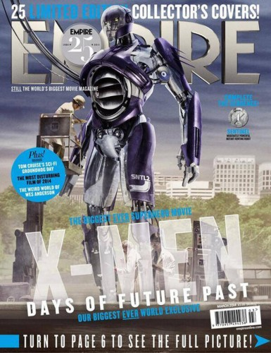 Portadas Exclusivas de Empire de X-Men Days of Future Past criticsight 13