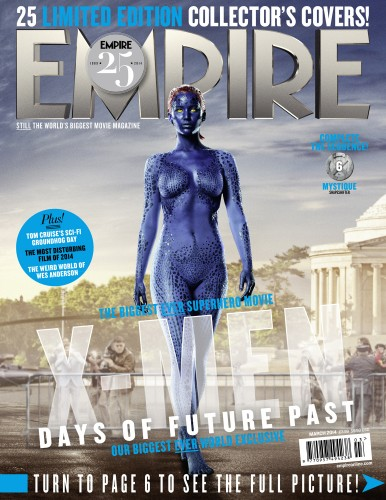 Portadas Exclusivas de Empire de X-Men Days of Future Past criticsight 14