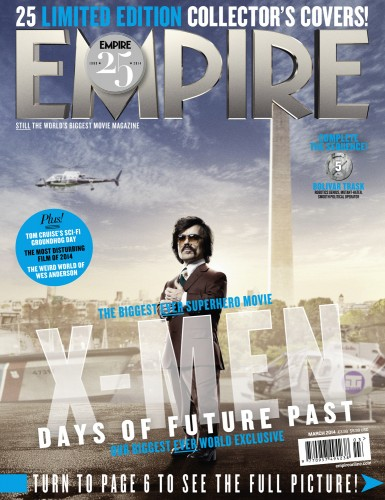 Portadas Exclusivas de Empire de X-Men Days of Future Past criticsight 15