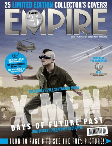 Portadas Exclusivas de Empire de X-Men Days of Future Past criticsight 17