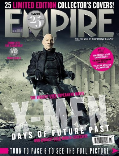 Portadas Exclusivas de Empire de X-Men Days of Future Past criticsight 2