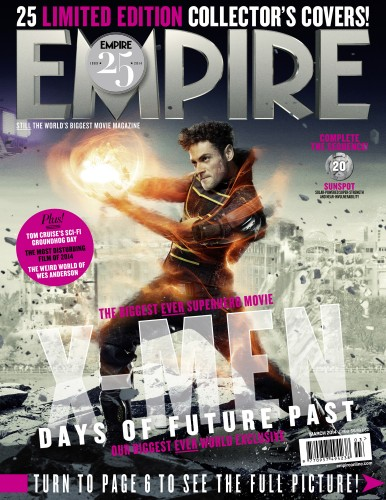 Portadas Exclusivas de Empire de X-Men Days of Future Past criticsight 21