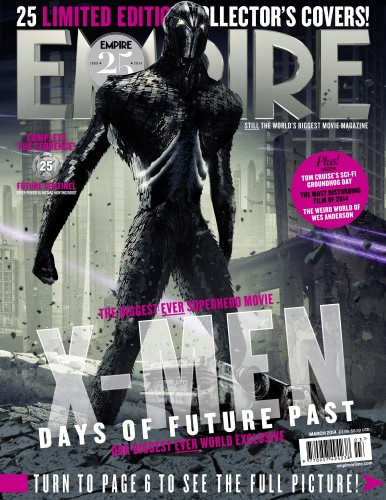 Portadas Exclusivas de Empire de X-Men Days of Future Past criticsight 25