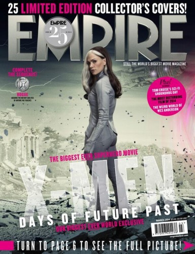 Portadas Exclusivas de Empire de X-Men Days of Future Past criticsight 4