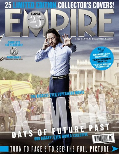 Portadas Exclusivas de Empire de X-Men Days of Future Past criticsight 5