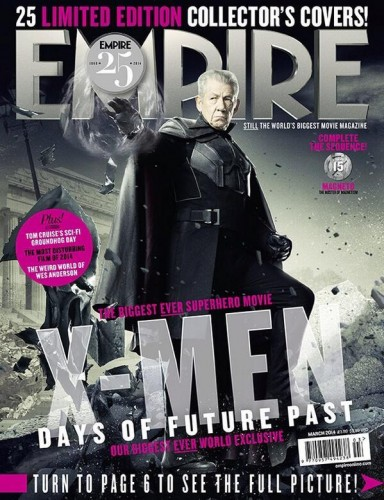 Portadas Exclusivas de Empire de X-Men Days of Future Past criticsight 8