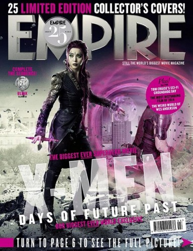 Portadas Exclusivas de Empire de X-Men Days of Future Past criticsight 9