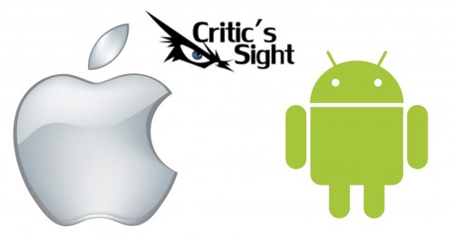 android y apple wall criticsight
