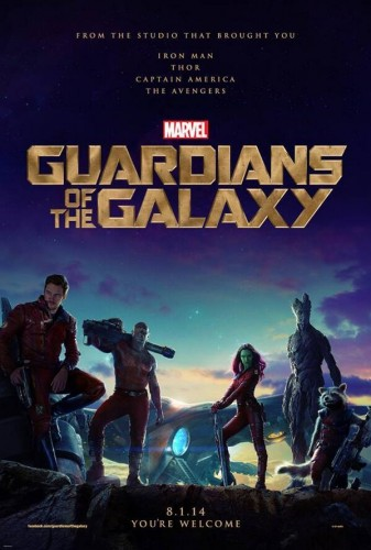 gurdians of the galaxy poster guardianes de la galaxia 2014 criticsight