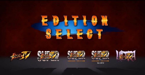 ultra street fighter iv edition select trailer criticsight