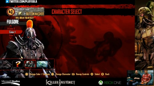 Fulgore colores distintos killer instinct 2014 criticsight 1