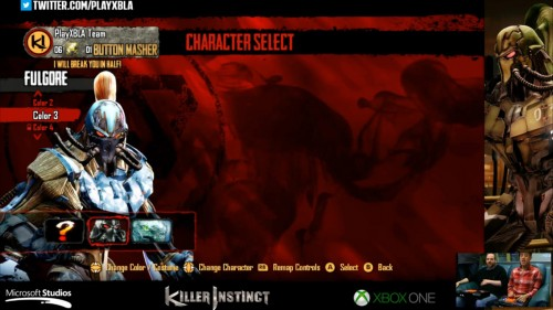 Fulgore colores distintos killer instinct 2014 criticsight 3