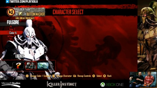 Fulgore colores distintos killer instinct 2014 criticsight 4