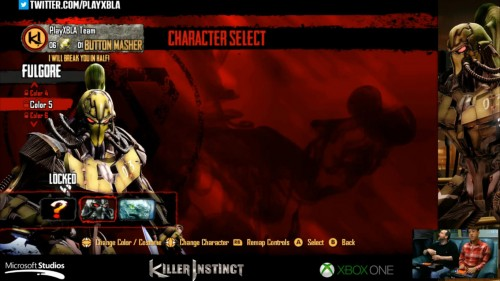 Fulgore colores distintos killer instinct 2014 criticsight 5