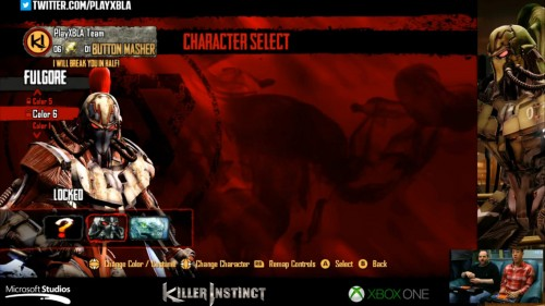 Fulgore colores distintos killer instinct 2014 criticsight 6