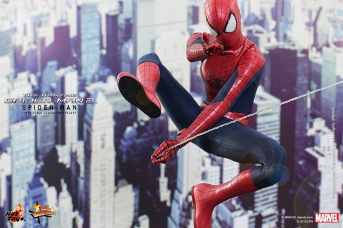 GAME TOYS Figura de Spidy de The Amazing Spiderman 2 por Hot Toys criticsight 1