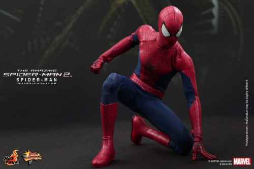 GAME TOYS Figura de Spidy de The Amazing Spiderman 2 por Hot Toys criticsight 12