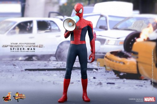 GAME TOYS Figura de Spidy de The Amazing Spiderman 2 por Hot Toys criticsight 7