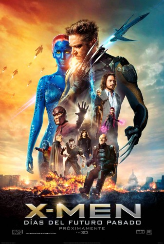 X MEN DAYS OF FUTURE PAST POSTER MEXICO LATINO ESPAÑOL CRITICSIGHT
