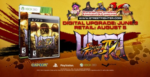 Ultra STreet Fighter IV fecha de salida criticsight