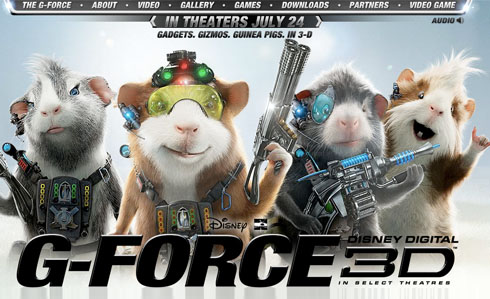 g force 3d ejemplo criticsight