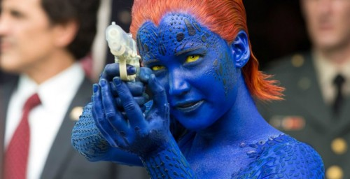 mystique shoot x men dofp criticsight