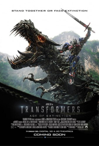 transformers age of extinction new poster may 2014 criticsight