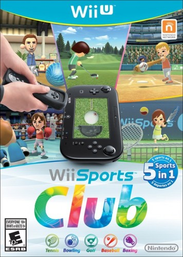2.4 WII Sports Club solo en WII U criticsight