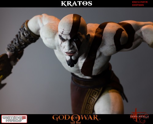 "Estatua de Kratos de God of War Solo Para Coleccionistas por ""Gaming Heads"" (2015) criticsight 10"