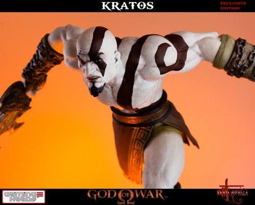 "Estatua de Kratos de God of War Solo Para Coleccionistas por ""Gaming Heads"" (2015) criticsight 12"