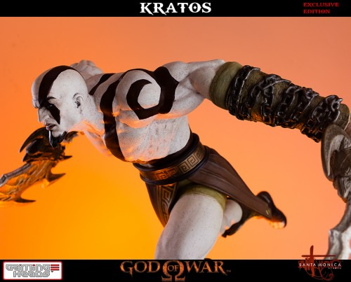 "Estatua de Kratos de God of War Solo Para Coleccionistas por ""Gaming Heads"" (2015) criticsight 15"
