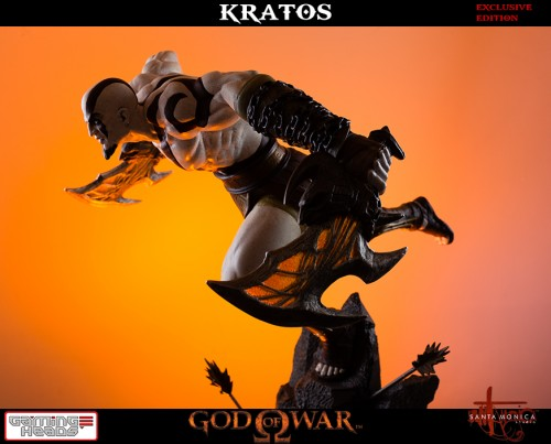 "Estatua de Kratos de God of War Solo Para Coleccionistas por ""Gaming Heads"" (2015) criticsight 17"
