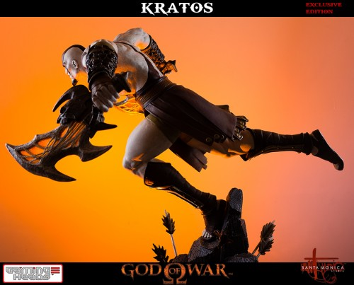 "Estatua de Kratos de God of War Solo Para Coleccionistas por ""Gaming Heads"" (2015) criticsight 18"