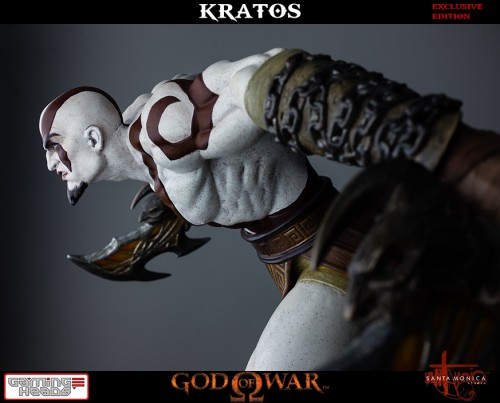 "Estatua de Kratos de God of War Solo Para Coleccionistas por ""Gaming Heads"" (2015) criticsight 19"