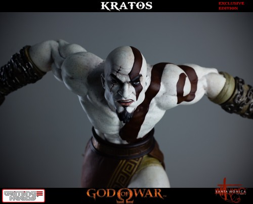 "Estatua de Kratos de God of War Solo Para Coleccionistas por ""Gaming Heads"" (2015) criticsight 20"