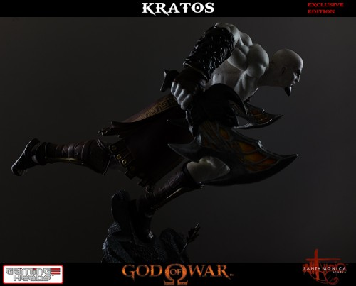 "Estatua de Kratos de God of War Solo Para Coleccionistas por ""Gaming Heads"" (2015) criticsight 23"