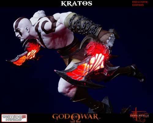 "Estatua de Kratos de God of War Solo Para Coleccionistas por ""Gaming Heads"" (2015) criticsight 26"