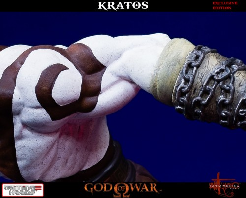 "Estatua de Kratos de God of War Solo Para Coleccionistas por ""Gaming Heads"" (2015) criticsight 28"