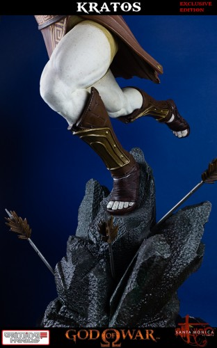 "Estatua de Kratos de God of War Solo Para Coleccionistas por ""Gaming Heads"" (2015) criticsight 43"