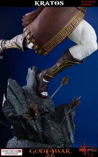 "Estatua de Kratos de God of War Solo Para Coleccionistas por ""Gaming Heads"" (2015) criticsight 44"