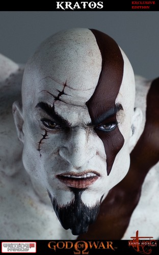 "Estatua de Kratos de God of War Solo Para Coleccionistas por ""Gaming Heads"" (2015) criticsight 49"