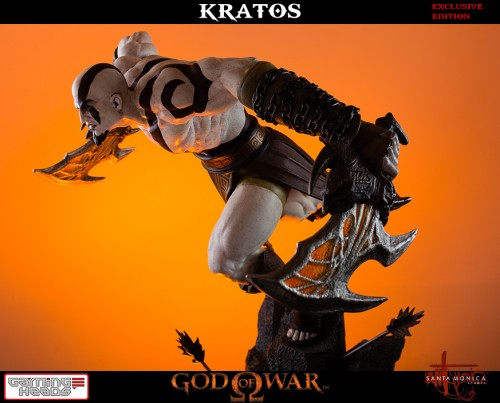 "Estatua de Kratos de God of War Solo Para Coleccionistas por ""Gaming Heads"" (2015) criticsight 50"