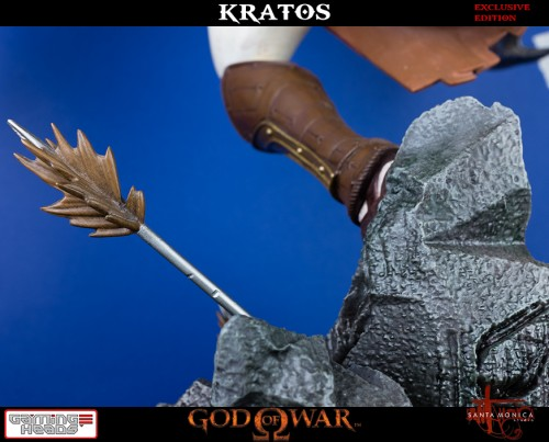 "Estatua de Kratos de God of War Solo Para Coleccionistas por ""Gaming Heads"" (2015) criticsight 9"