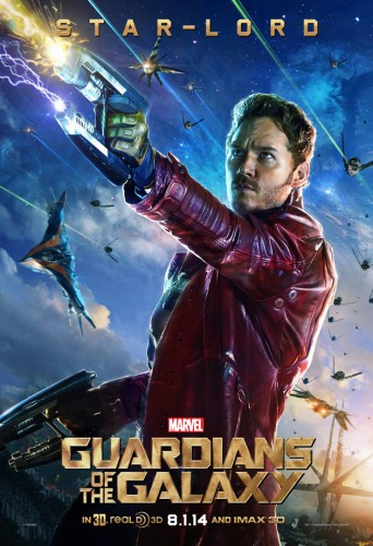Estos son los Posters Oficiales de Guardianes de la Galaxia criticsight star lord