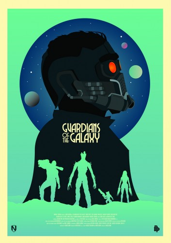 Posters fan made de guardianes de la galaxia criticsight 11