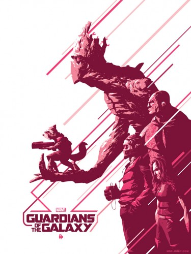 Posters fan made de guardianes de la galaxia criticsight 13