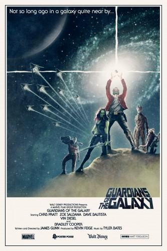 Posters fan made de guardianes de la galaxia criticsight 14